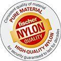 fischer DUOPOWER 8 x 40 univerzální hmoždinka + bílý hák