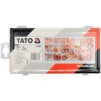 YATO Podložky těsnící měděné sada 150ks