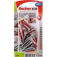 fischer DUOPOWER 6 x 30 univerzální hmoždinka + vrut