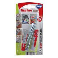fischer DUOPOWER 12 x 60 univerzální hmoždinka + vrut