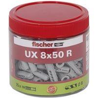 fischer UX 8 x 50 R univerzální uzlovací hmoždinka s límečkem
