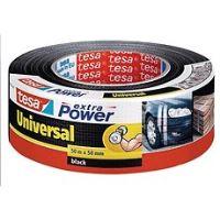tesa Extra Power Universal, textilní, černá, 50m:50mm