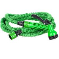 HAPPY GREEN Hadice natahovací 15m, zelená