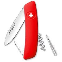 Swiza švýcarský kapesní nůž D01 red