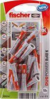 fischer DUOPOWER 8 x 40 univerzální hmoždinka