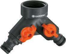 """Gardena 2-cestný ventil 3/4"""" + 1"""""""