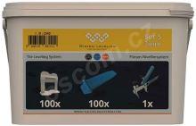 System Leveling Aplikační SET 100/100/1 - 3mm
