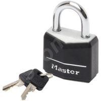 MasterLock 9140EURDBLK Visací zámek  z pevného hliníku