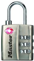 MasterLock TSA 4680EURDNKL Visací kombinační zámek pro zavazadla