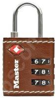 MasterLock TSA 4692EURDBRN Visací kombinační zámek pro zavazadla