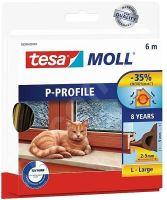 tesamoll Gumové těsnění, hnědé, P profil, 25m