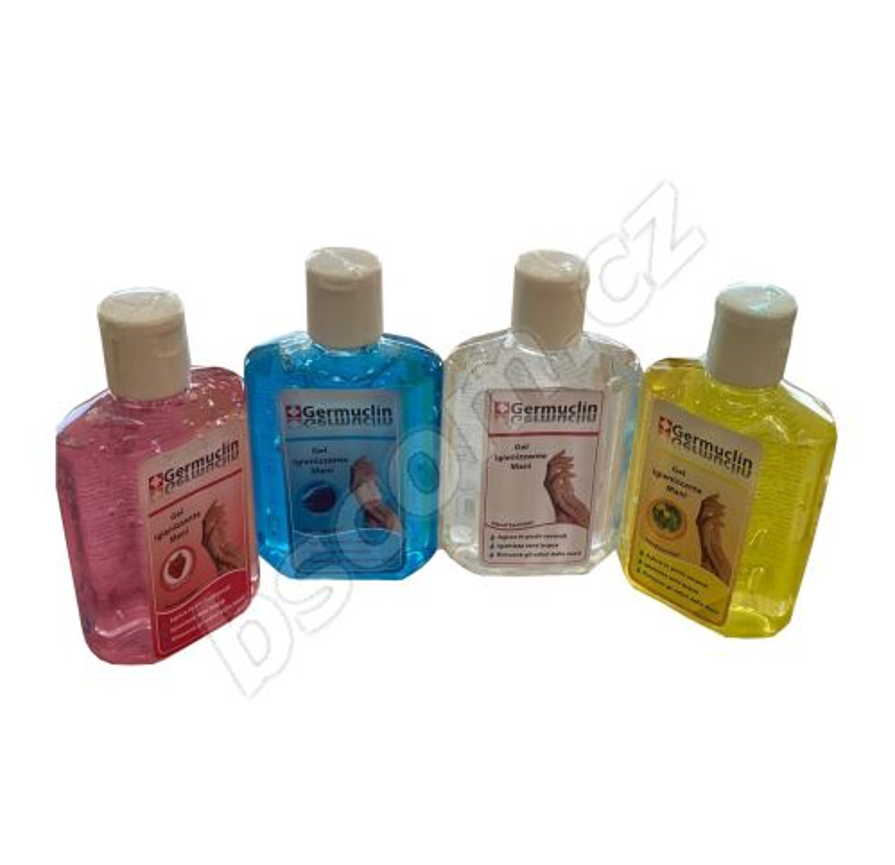 Dezinfekční gel na ruce 60ml - modrý