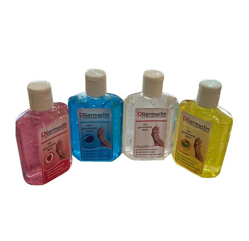 Dezinfekční gel na ruce 60ml - žlutý