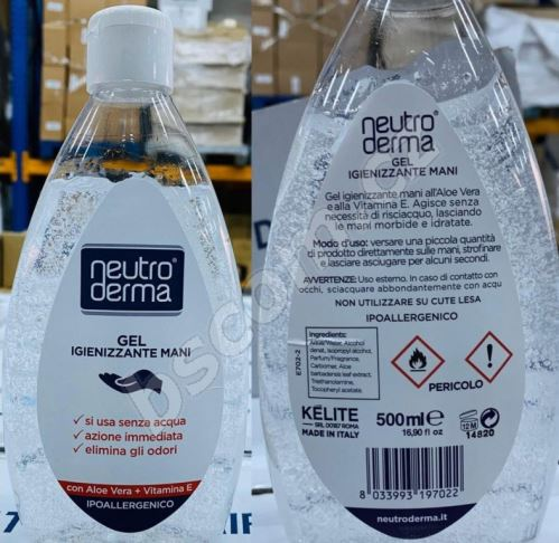 Dezinfekční gel na ruce 500ml