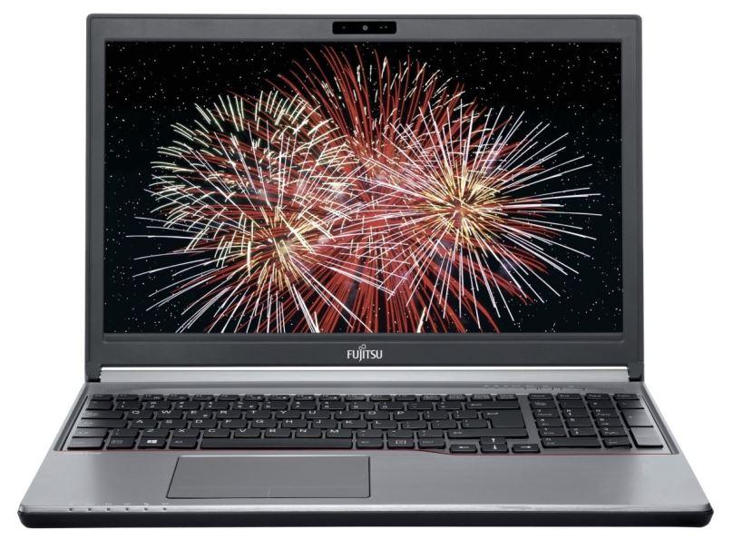 Renovovaný notebook Fujitsu Lifebook E756, stříbrný, záruka 24 měsíců