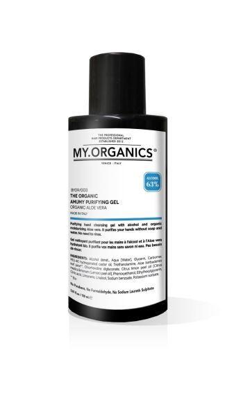 MY.ORGANICS Dezinfekční antibakteriální gel 150ml